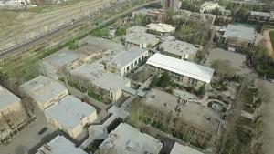 عکس هوایی از دانشگاه